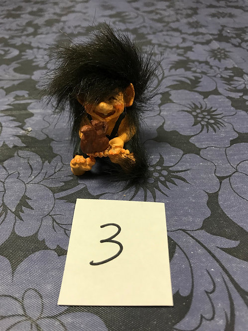 Small Troll with Squirrel
