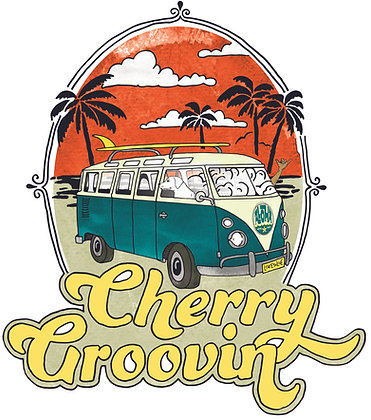 Cherry Groovin Sticker