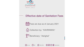 Upcoming water bill to include sanitation fee: Kahramaa