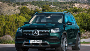 First-in-class innovations meets in Mercedes GLS 580