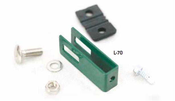 Anschlussklemme long für Stabmatten - universal (10 Stk. Set)
