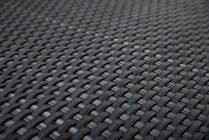 Rattan Sichtschutz 03 Stahlgrau nach Maß (Preis pro m²)