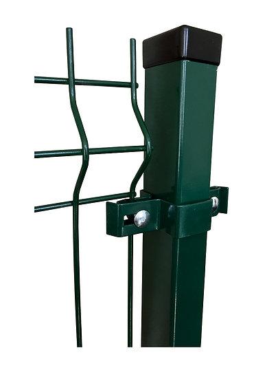 Gitterstabmatten-Pfosten ECONOMY 60/40 mm