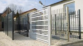 Design Stahlzäune