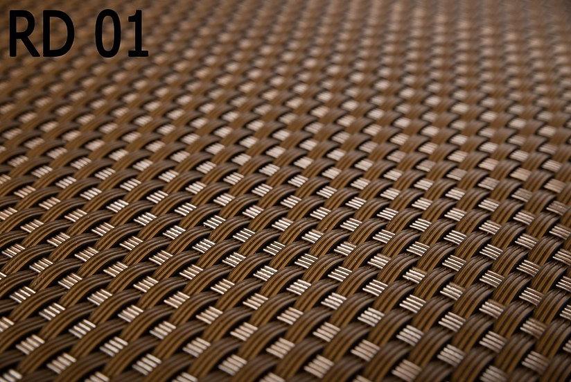 Rattan Sichtschutz 01 Braun nach Maß (Preis pro m²)