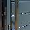 Thumbnail: Elektrischer Tor-Öffner | Edelstahl Griff/Griff in der Drückergarnitur
