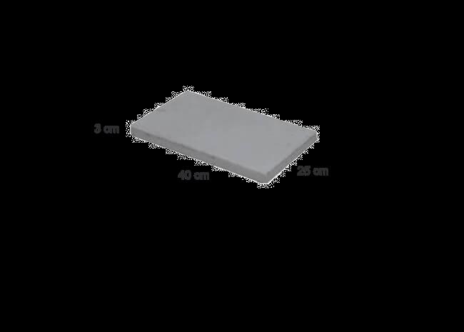 Betonstein-Abdeckplatten 400x250x30mm