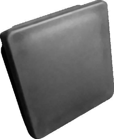 Pfostenkappe für 80/80 mm Zaunpfosten oder Torpfosten aus Kunststoff (5 Stk.)