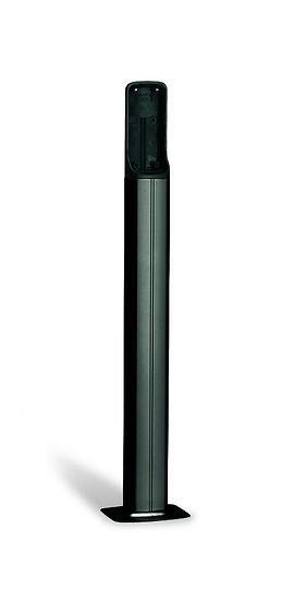 Lichtschrankensäulen Alu - schwarz