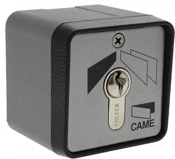 CAME Schlüsseltaster SET-E, AP mit Profilzylinder (Schlüsselschalter)