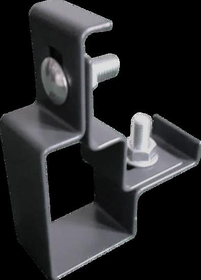 Montageschellen für Zaunpfosten (Easy Clips) | Für Eckpfosten | 10 Stk.