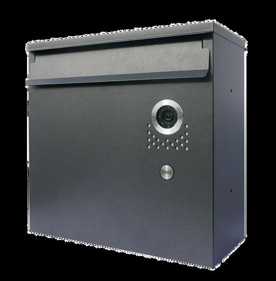 Video Briefkasten Durchwurf-Briefkasten mit Kamera