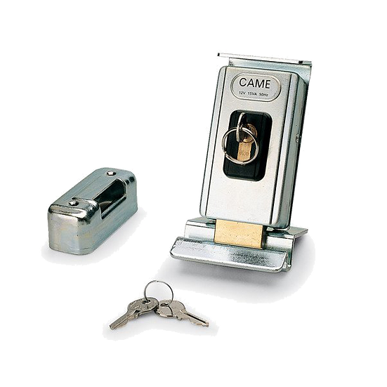 Bodenriegel mit Elektroschloss CAME Lock81