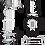 Thumbnail: Lichtschrankensäulen Alu - schwarz