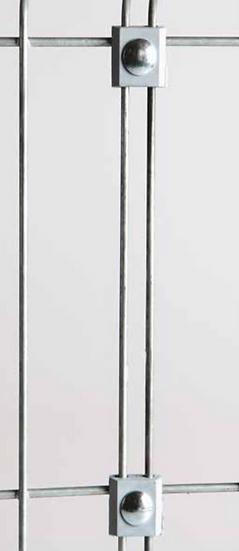Kunststoff verbinder für Stabmatten LIGHT (10 Stk. Set)