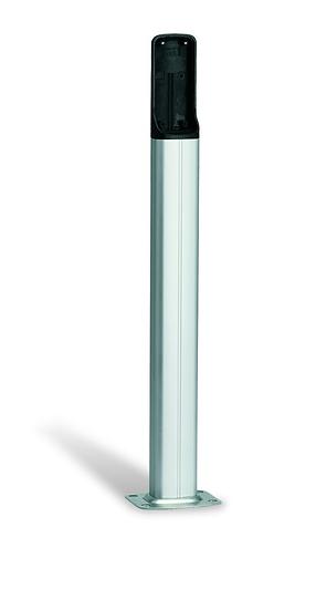 Lichtschrankensäulen Alu silber - silber
