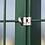 Thumbnail: Zaunpfosten Hakenschrauben aus Edelstahl (10 Stk. Set)