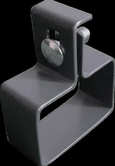 Montageschellen für Zaunpfosten (Easy Clips) | Für Anfangspfosten | 10 Stk.