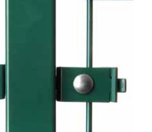 Montagewinkel zum Verbinden von Doppelstabmatten (10 Stk. Set)