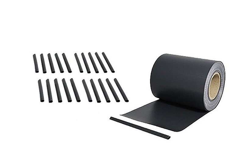 PVC Sichtschutzstreifen 35 laufende Meter Rolle Anthrazit