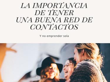 LA IMPORTANCIA DE TENER UNA BUENA RED DE CONTACTOS