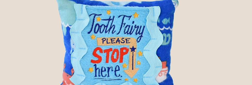 Sea Life Tooth Fairy Pillow