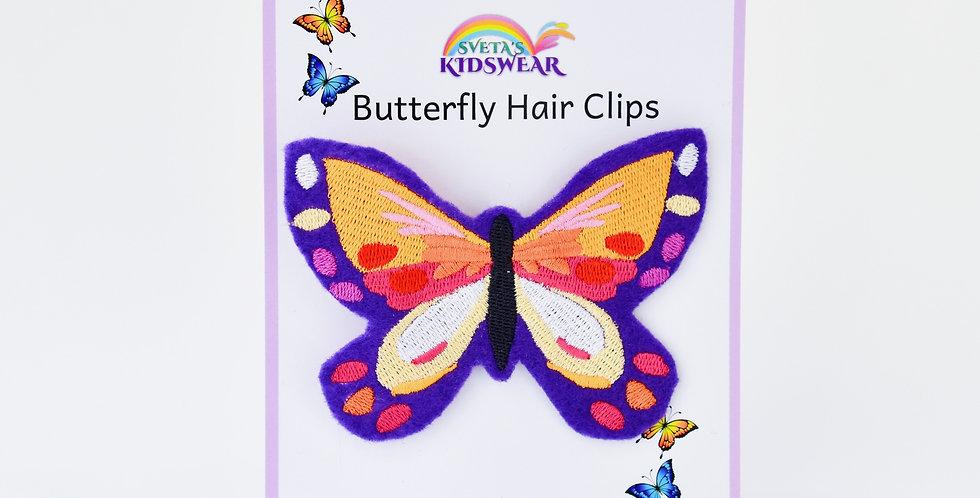 Spectacular Butterfly Hair Clip