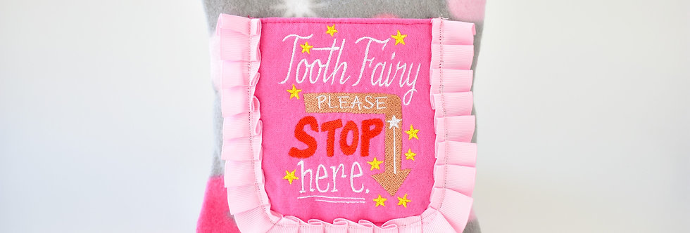 Lady Pink Tooth Fairy Pillow