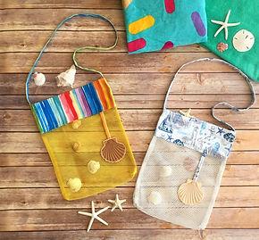 sveta's kidswear sea shells bags