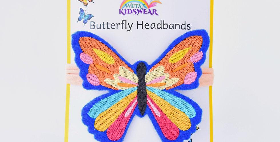Rainbow Butterfly Headband