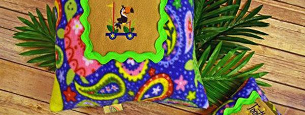 Safari Toucan Bird Pillows Set