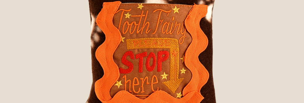 Playful Tooth Fairy Pillow