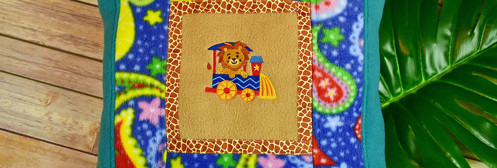 Safari Lion Pillow