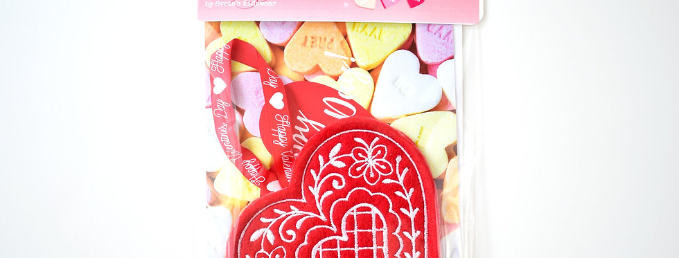 Valentine's Day Card with Ornament