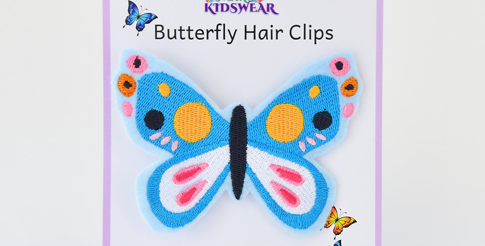 Blissful Butterfly Hair Clip