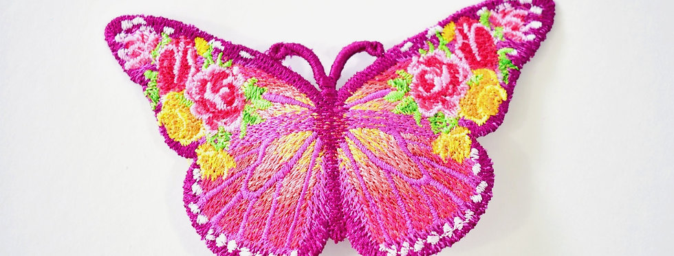 Victorian French Barrette Butterfly Hair Accessory