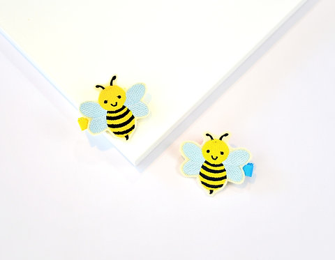 2 Pack Hair Clips - Bumblebees