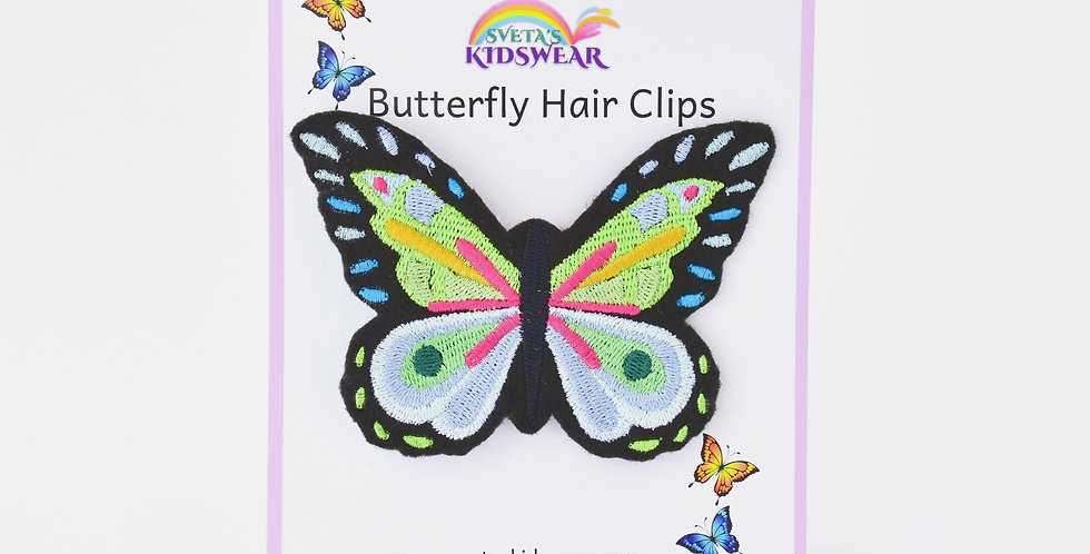 Magnificent Butterfly Hair Clip