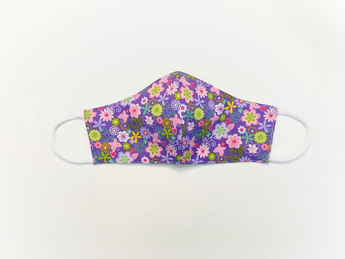 sveta's-kidswear-multi-use-protective-washable-face-mask-purple-with-flowers-extra-large