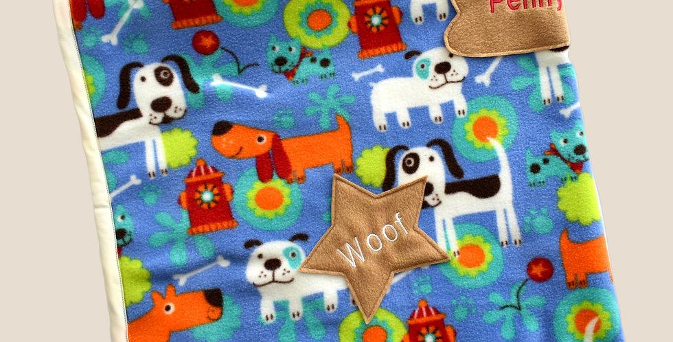 Toddler Cute Puppies Blanket (Educational)