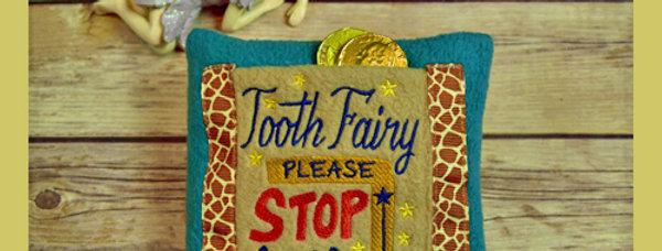 Safari Tooth Fairy Pillow
