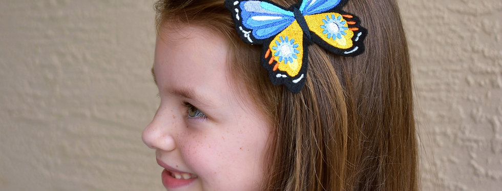 Fantastical Butterfly Hair Clip