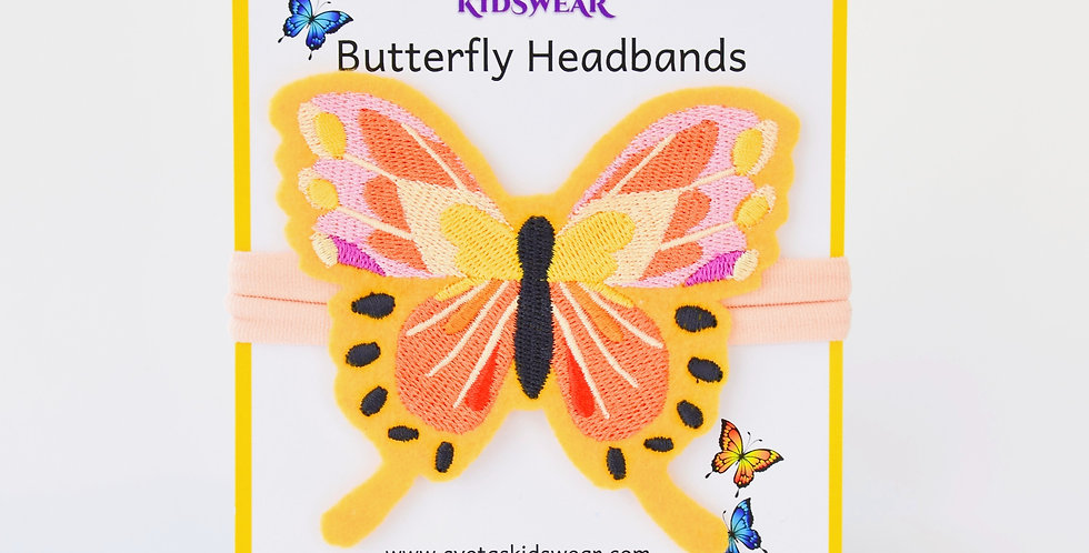 Magnificent Butterfly Headband