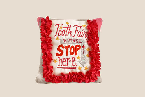 Pretty Raspberry Tooth Fairy Pillow