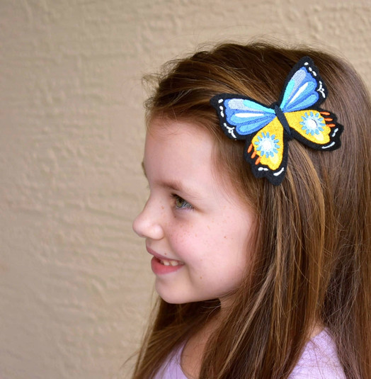 Sveta's Kidswear Butterfly Hair Clip
