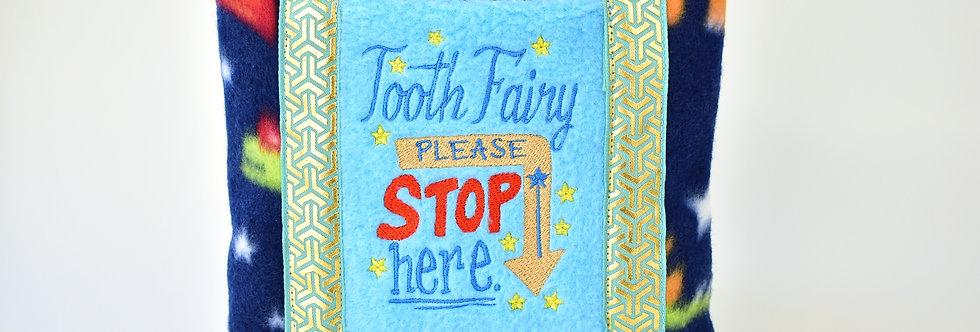 Dinosaur-Themed Tooth Fairy Pillow
