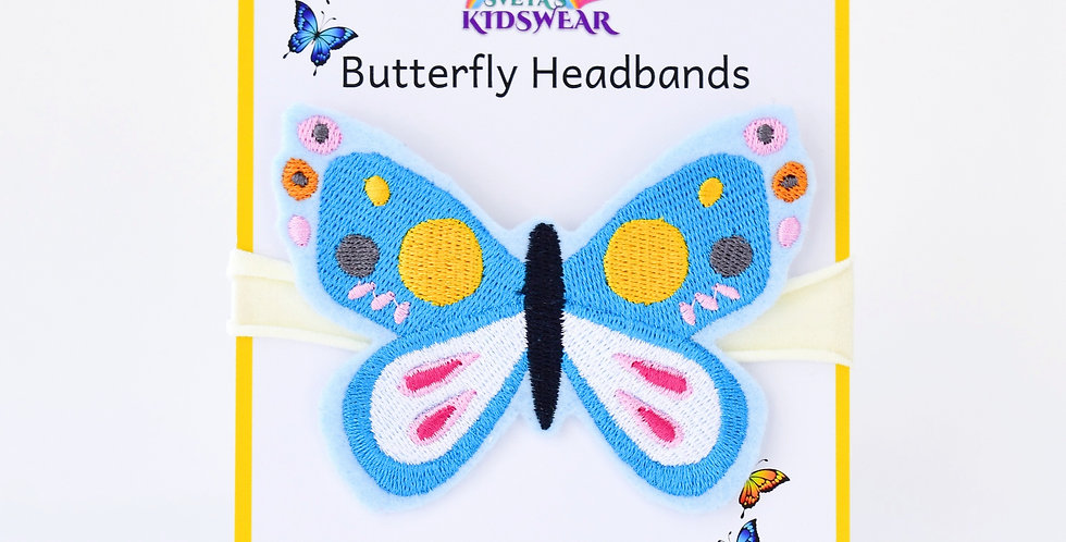 Blissful Butterfly Headband