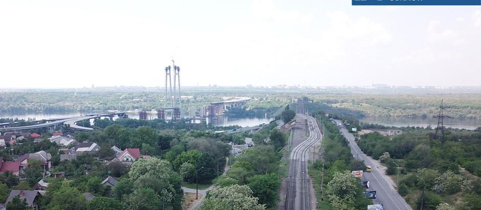 У Запоріжжі будівельники розпочали роботи з будівництва залізничного шляхопроводу