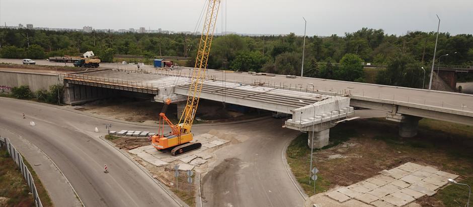 Велике будівництво: у Запоріжжі мостобудівники готуються до третього етапу насування