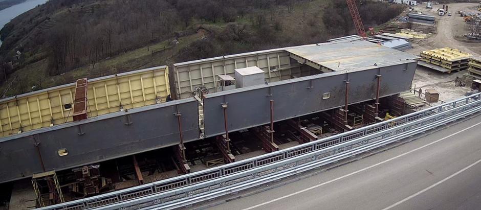 На будівництві запорізьких мостів нові проміжні результати: що вже зроблено